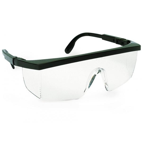 lunette classique – branches réglables horizontalement et verticalement  monture polyamide coloris noir – oculaire et protections latérales en  polycarbonate ... 820a1a8b6513