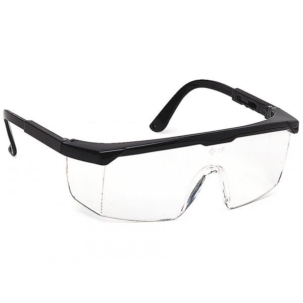 lunette classique – branches réglables et perforées pour accès cordon  monture polyamide coloris noir oculaire et coques latérales de protection  en ... ccd81397f0d1